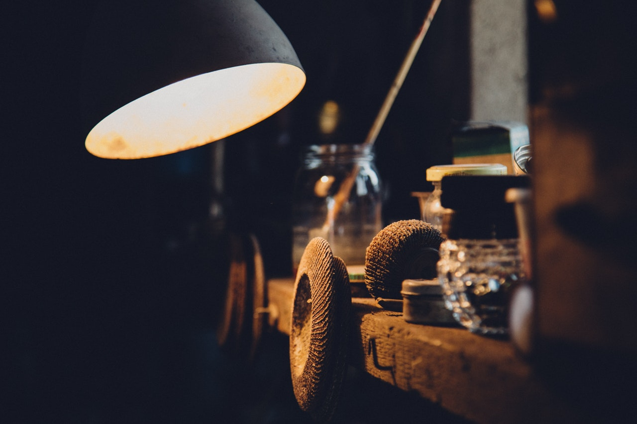 garage lighting/ how to decorate a garage for a party