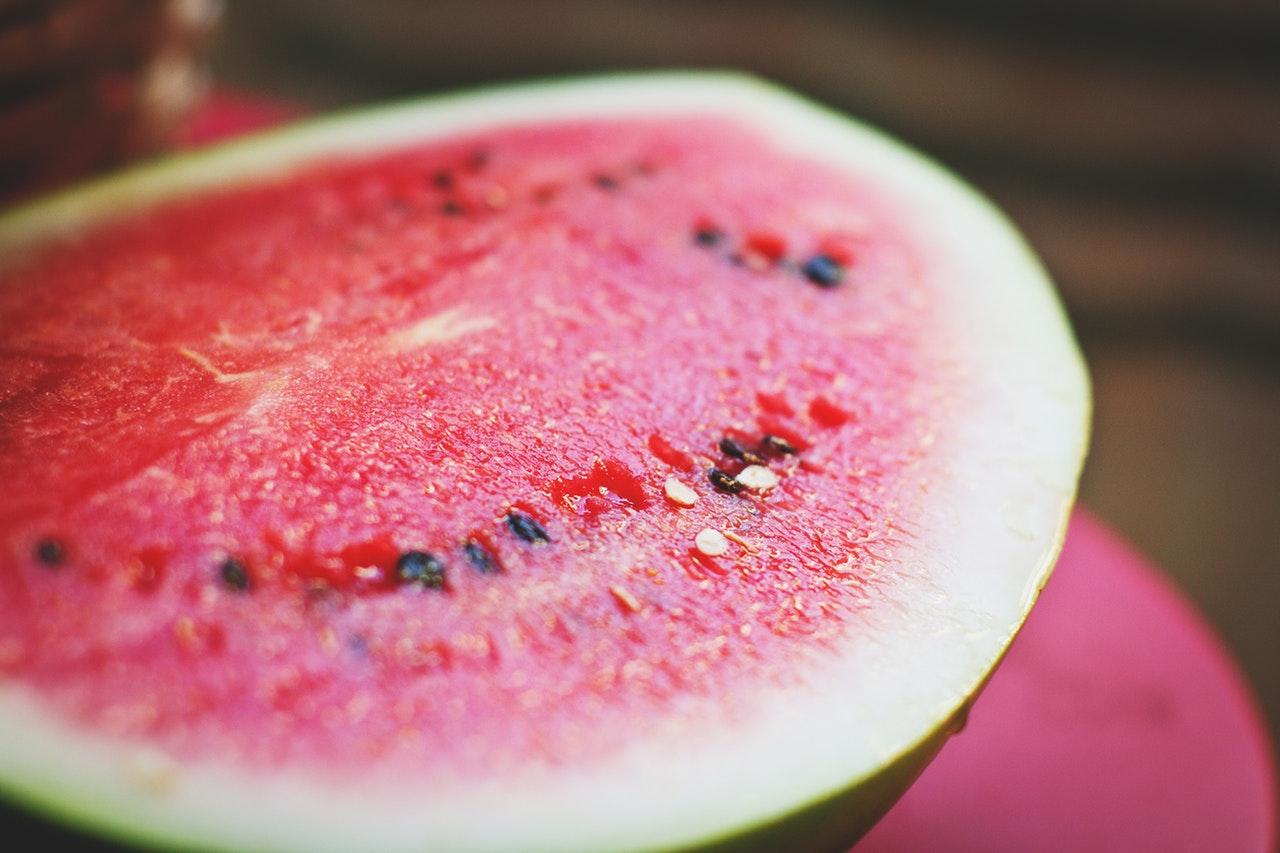 a cut watermelon/Watermelon Party Decorations