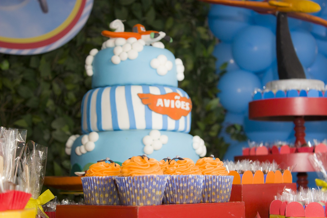 Airplane cake/Airplane Party Food