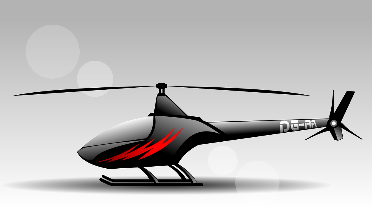 a helicopter toy